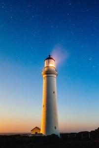 phare pour éclairer